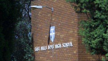 East Hills Boys High School.