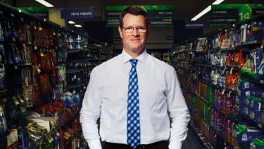 Cashed up: Former CEO and managing director of Woolworths, Grant O'Brien.