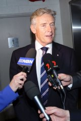 Tim Owen admitted to giving false evidence to the ICAC.