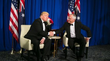 Malcolm Turnbull said he was standing up Australia's national interests during a testy phone call with Donald Trump in January