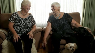 Sisters Kathleen Byrne and Barbara Setterfield are involved in the Older Australian Twins Study.