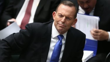 Prime Minister Tony Abbott, pictured in question time on Tuesday, has warned ministers to maintain public unity.