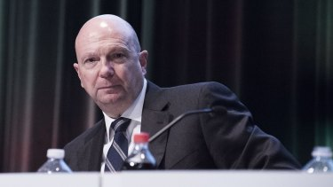 Woolworths chairman Gordon Cairns has not been able to find an Australian willing to run Woolworths.