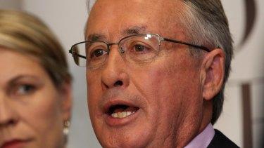 Former federal treasurer and prostate cancer survivor Wayne Swan.