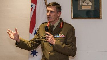 Chief of the Army, Lieutenant  General Angus Campbell.