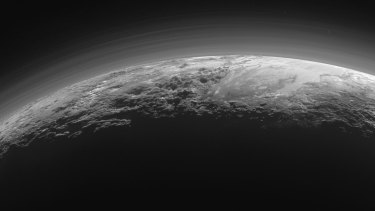 The latest images of Pluto from NASA's New Horizon spacecraft.