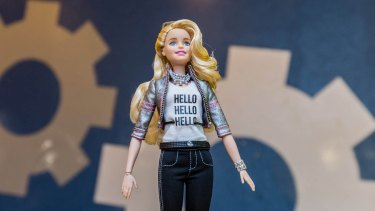 Hello Barbie can converse with children by using ToyTalk's system to analyse a child's speech and produce relevant responses.
