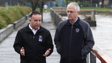 Ousted Liberal MP Andrew Nikolic, pictured with Prime Minister Malcolm Turnbull, has said a campaign by GetUp! has cost him his seat.