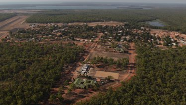 The far north Queensland community of Aurukun.
