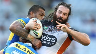 Still captain: Aaron Woods will not have the captaincy taken from him yet.