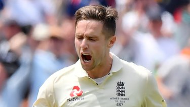 England's Chris Woakes will miss the fifth Test.