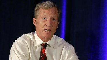 Tom Steyer is dumping at least $US10 million into a national advertising campaign calling for President Donald Trump's impeachment.