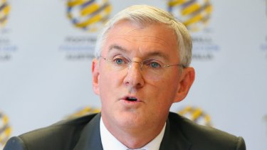 Embarrassing blow: FFA Chairman Steven Lowy.