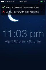 Five more minutes: SleepCycle has the better snooze feature.