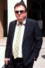 Peter Foster in a previous appearance outside Federal Magistrates Court.