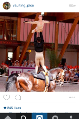 Rosalind Ross' equestrian career has led her to a gold medal at the World Equestrian Games in 2010.