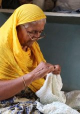 Artisans of Fashion works in India to create traditional textiles for brands like KitX.
