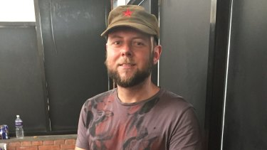 Max Harach, 32, from Sydney was in Kathmandu when the earthquake struck but sought safety outside the city.