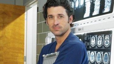 Patrick Dempsey played Dr Derek Shepherd for 250 episodes of <i>Grey's Anatomy</i>.