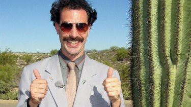 Borat outs Donald Trump as a Sacha Baron Cohen character ...