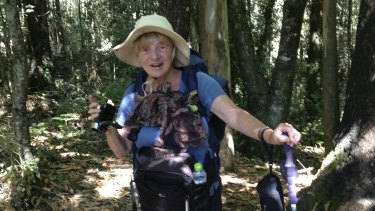 Acey Teasdale, from Australia, travelled to The Camino on a pilgrimage.