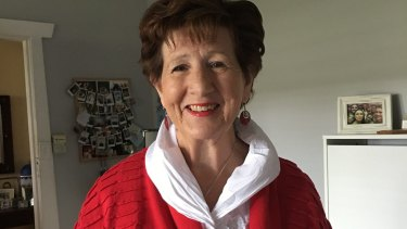 Ruth Budge wears a pacemaker after she was diagnosed with sinus node disease.