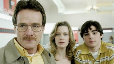 RJ Mitte was 14 years old when he won the role of Walt jnr in <i>Breaking Bad</i>, alongside Bryan Cranston and Anna Gunn.
