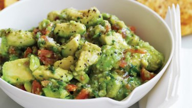 A classic guacamole: according to Barack Obama it should <i>not</i> include peas.