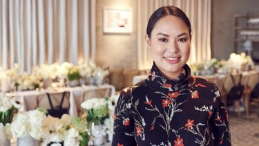 TDE co-founder Alyce Tran opened up to Fairfax Media at TDE's international launch lunch at Missy French in Sydney, on Tuesday.