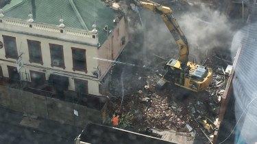 The Corkman Irish Pub, also known as the Carlton Inn, was demolished this month.