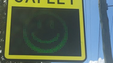Brisbane City Council has invested $5 million in a portable speed warning sign program.