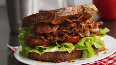 Bacon is better than lettuce when it comes to greenhouse gas emissions, the study suggests