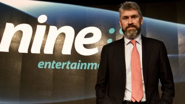 Perfect credentials: Departing Channel Nine boss David Gyngell could be an ideal addition to the ARL Commission.