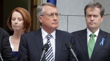 When in government, Labor prime minister Julia Gillard and treasurer Wayne Swan voted against 2012 same-sex marriage legislation, while current Labor leader Bill Shorten voted in favour.