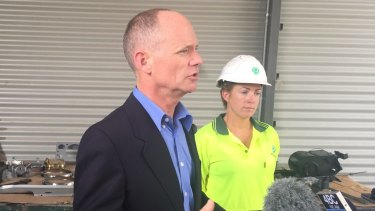 Premier Campbell Newman announces the LNP's 'Jobs of Tomorrow' scheme to target youth unemployment.