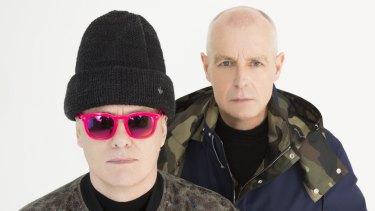 Serious faces but serious danceability - Pet Shop Boys have a new album.