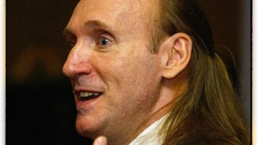 Former armed robber, prison escapee, and best-selling author Gregory David Roberts in 2005.