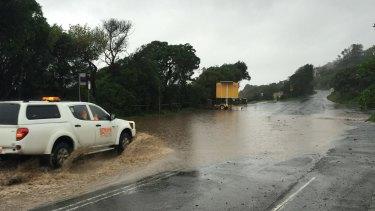 Great Ocean Road weather damage last week.
