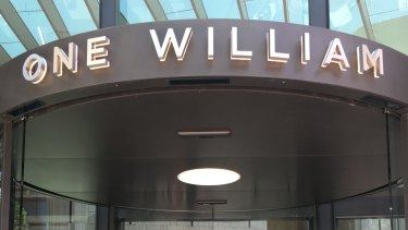 The first look inside 1 William St, also known as the tower of power.