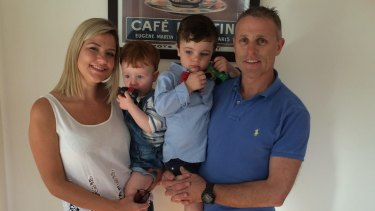 Mary Shevlin and her husband Damian Burns, with their kids Louis (3) and Charlie (1), have sold their Melbourne house and are moving back to Ms Shevlin's hometown in County Monaghan.