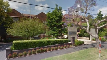 Roseville College on Sydney's north shore.