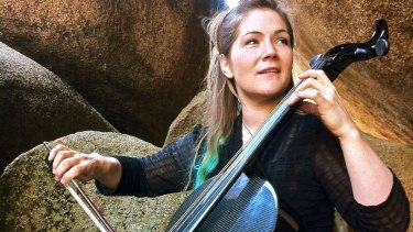 Cellist Rachel Johnston.