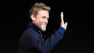 Hunnam at CinemaCon in Las Vegas last month.