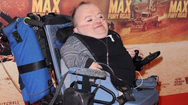 Actor Quentin Kenihan arrives at the Australian Premiere of Mad Max: Fury Road in Sydney.