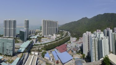 Thousands of homes, a shopping centre and hotel were built around or near Tung Chung Station in Hong Kong as part of MTR's rail plus property model.