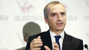 Virgin chief executive John Borghetti said the airlines was ahead of its target of achieving $1 billion in cost savings by the end of the 2016-17 financial year.