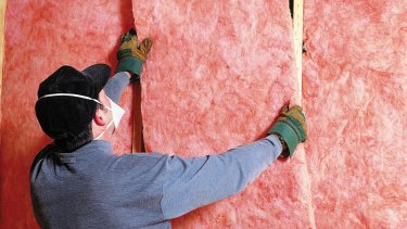 Pink batts from the Rudd government's failed Home Insulation Program, which prompted a royal commission.