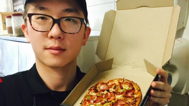 Domino's worker Azrael Yin blew the whistle on Pamir Dehsabzi's practices to Domino's head office but never heard back.