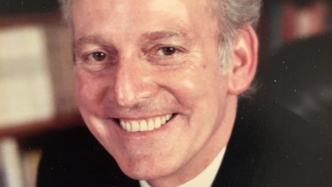 Norman Mackenzie died after being hit by a cyclist while crossing Jacka Boulevard in St Kilda.