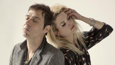 Jamie Hince and Alison Mosshart of The Kills.